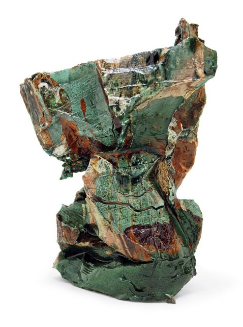 2014, Various reclaimed ceramic materials; 12.5″ x 9″ x 7″