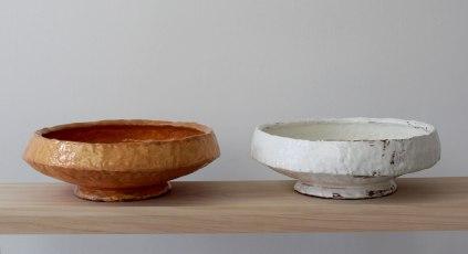 terra cotta, slip, glaze, 5.5 in x 16 in x 36 in, 2012