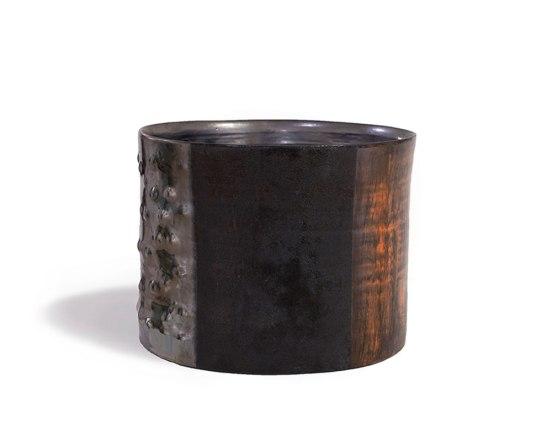 "stoneware vessel, 11 x 10 x 9"" 2013"