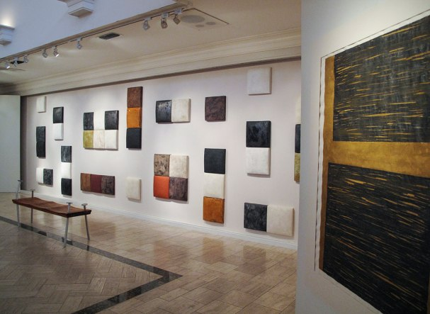 "wall installation, stoneware, 300 x 84"" 2012"