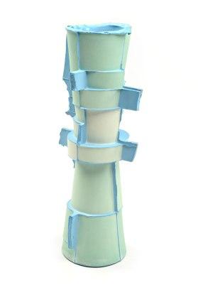 Slipcast, Porcelain, cone 6 Oxidation, 11.5in x 4.5in x 4.5 in each