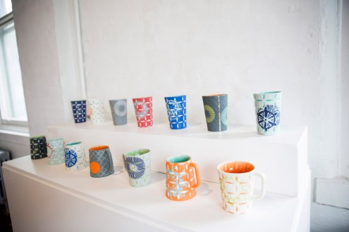"Kelly Justice, ""Mugs and Tumblers"""