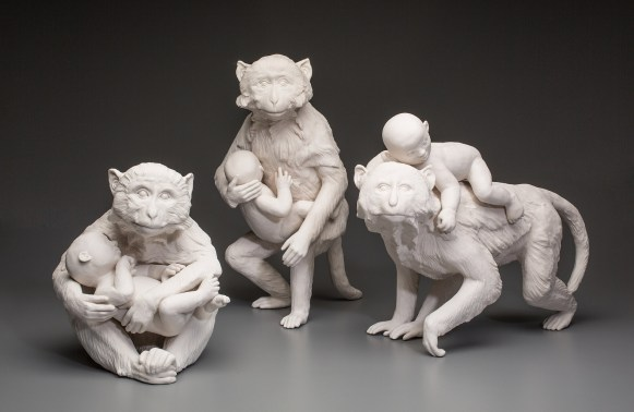 "Kate MacDowell, ""Nursemaid 1, 2 and 3"""