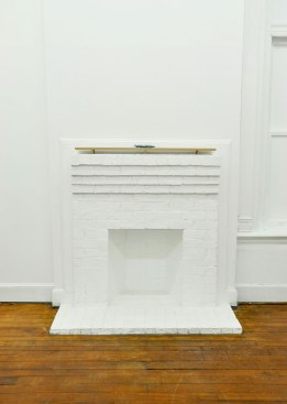 Installation shot, Oak, ceramic, 2015
