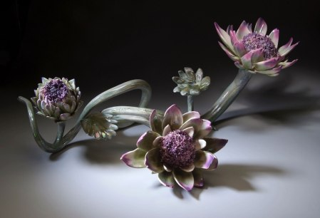 "28""X12""X13"" Ceramic and Glaze, Luster, 2007"