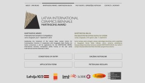 Screenshot for Latvia International Ceramics Biennale