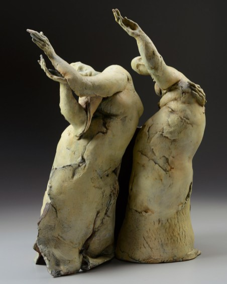 25 X 18 X 13, stains, oxides, cone 5 , raw clay post firing