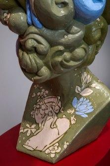 2012, Ceramic, wallpaper