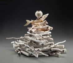 cast porcelain, 26x22x23, 2014