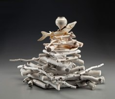 cast porcelain, 26x22x23, 2014