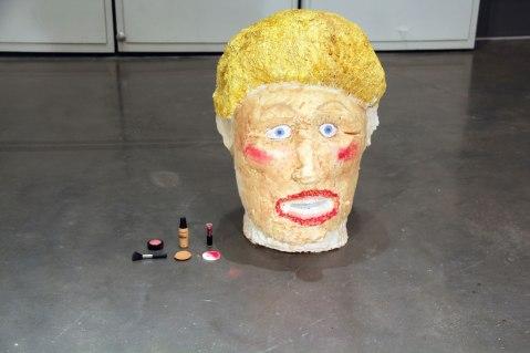 ceramic paint makeup, 3x2x2, 2014
