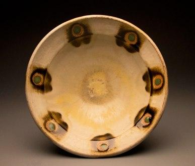 "6""x13""x13"", wood/soda/salt fired stoneware"