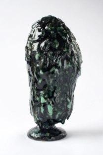 29 cm h. Stoneware and glazes. From Copenhagen Ceramics 2013. Private Collection.