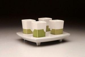 "Liquor Cups (4), 6"" x 9"" x 9"", 2011"