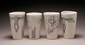 porcelain, underglaze, glaze. 2015