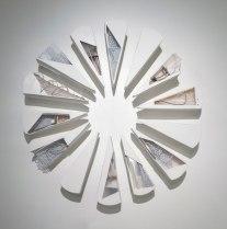 Ceramic, Plastic,Aluminum,Wood,Wire, Cement, Plaster, Paper, Hardware. 72''x10''x72''. 2013