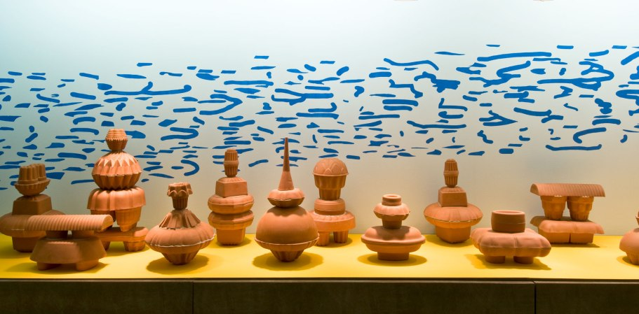 Philadelphia International Airport, terra cotta, dimensions variable, 2010