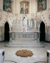 "Corpus Christi Church – Baltimore, MD, 2005, Terra Cotta, 54″ x 6″ x 54"""