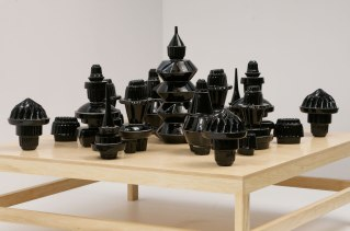 2010, Glazed Earthenware, 32″ x 60″ x 60″