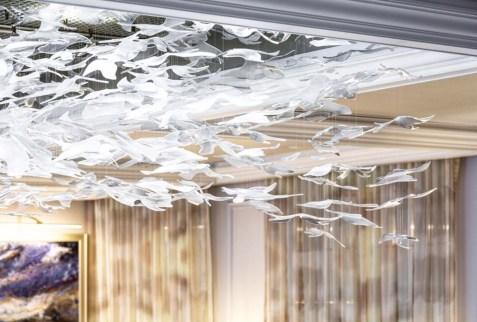 Acrylic – Monofilament, Lasercut - Kiln Formed