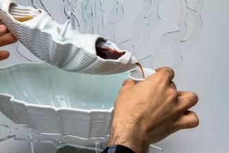 Porcelain - Acrylic – Liqueur, Slipcast - Laser Cut