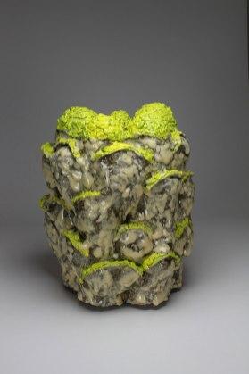 """Stoneware and glaze, 22"""" X 18"""" X 16"""", 2018"""