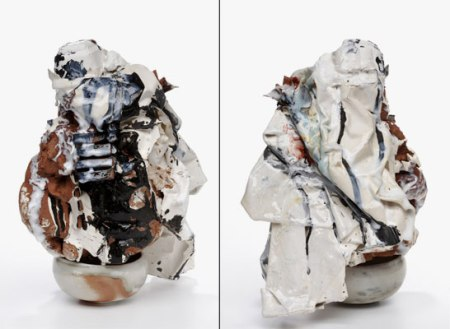 """Heather Nameth Bren, """"non-object and bowl, view 1 & view 2"""""""
