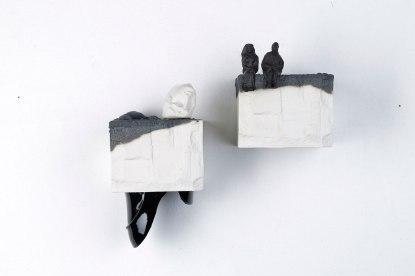 """Özgü Gündeşlioğlu, """"black"""" from on earth series"""