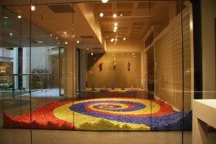 urban rebutia at Seattle Design Center (30,000 pieces), Seattle Design Center, Seattle, Washington. March 26-31, 2012, porcelain & engobe, 72 X 168 X 336 inches (approximate installation dimensions)