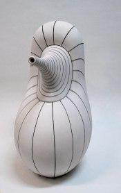 White Clay, Hand Shaping, 1050 C, 25x33x46 cm, 2016