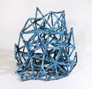 "Priya Thoresen, ""Turquoise Triangle Tree"""