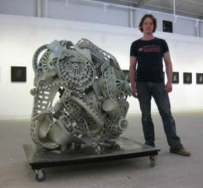 """12/2011, Porcelain, 52x47x30"""""""