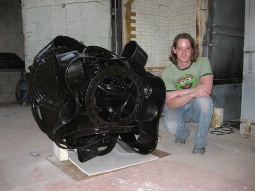 "1/2011, Stoneware, 39x48x38"""