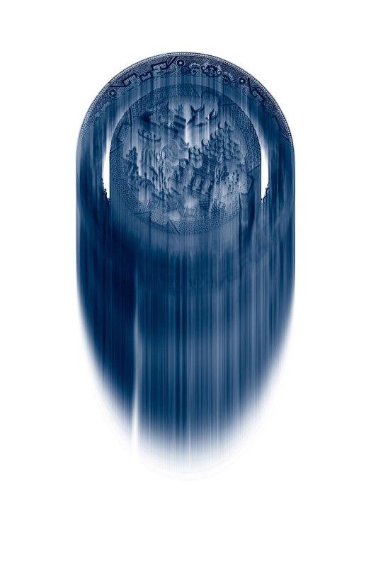 "Rory MacDonald, ""Flow blue"""