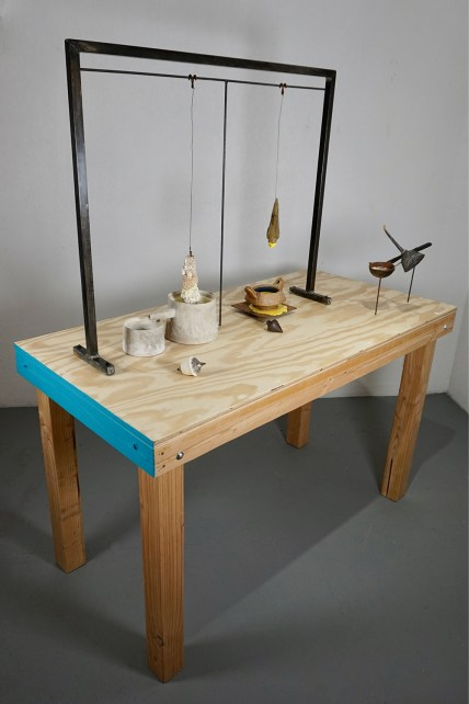 "Rick Parsons, ""Displacement Principle (Lab Table)"""