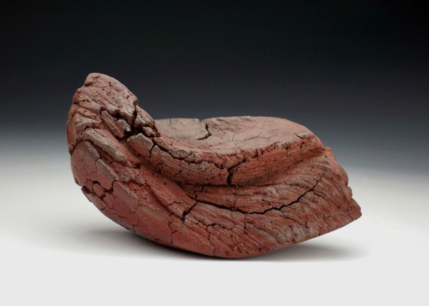 """10"""" x 5"""" x 6"""", Wood Fired Stoneware- Reduction Cooled"""