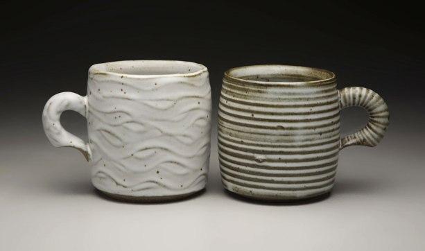 "3.5"" x 3.5"", iron rich stoneware W/ satin matte glaze, reduction cone 9"