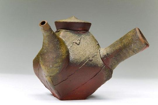 "Wood Fired Stoneware, 2012, 5.5""x8""x7"""