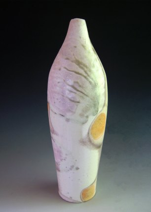 "13"" x 4"" x 4"", Wood-fired Porcelain"