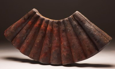 "18""x30""x6"", black clay, 2012"