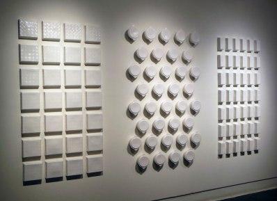 "Slip-Cast Porcelain and Glaze, 60"" x 120"" x 4"", 2014"