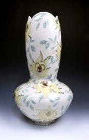 "Stephanie Wilhelm, ""Yellow Floral Vase"""