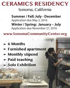Residency at Sonoma Community Center