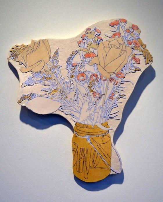 "Stoneware, 18"" x 16"", 2012"