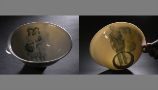 "Translucent porcelain, 7 1/2"" across, 2008"