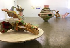 """Travis Townsend, Installation view of """"7 New Sculptures (and a few small paintings)"""""""