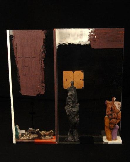 W51xh45xd5, Ceramic, graphite, paper, acrylic, plastic, 2010
