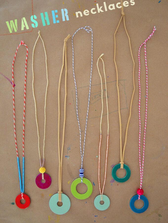 Washer Necklace : washer, necklace, Washer, Necklace, Archives, ARTBAR