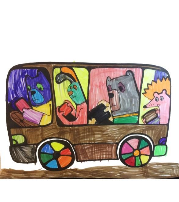 игры в дорогу, игры и поездку, занятия для детей в дороге, психология цвета, выбор цвета ребенком, черный цвет в рисунке ребенка, почему ребенок рисует черным