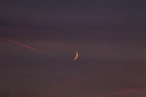 moon, plane, planet